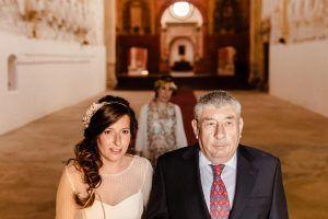 boda en la Cartuja de Cazalla sevilla