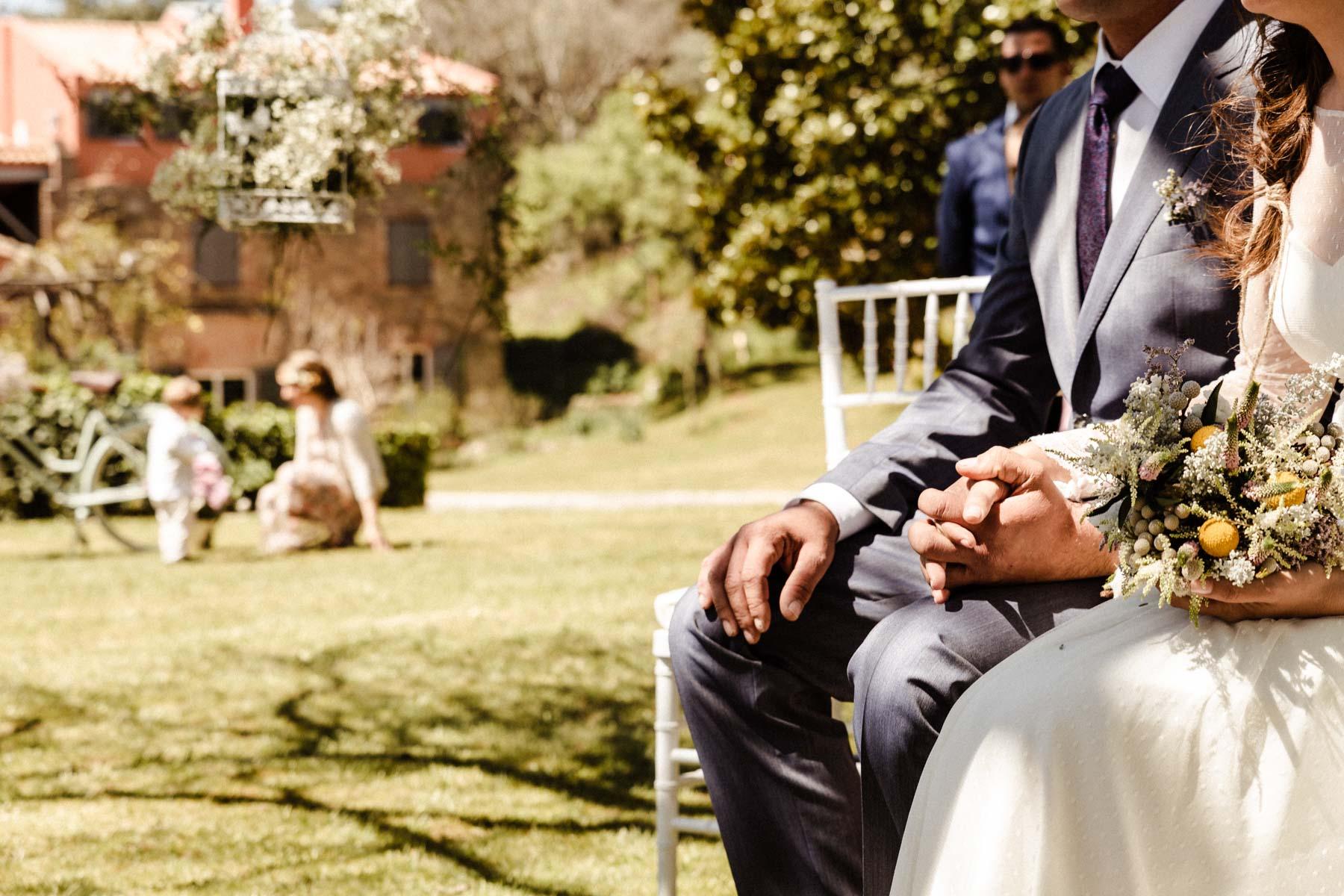 manos de boda