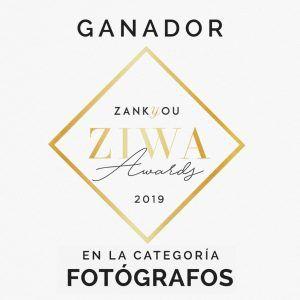 Premio ZIWA fotógrafo de bodas
