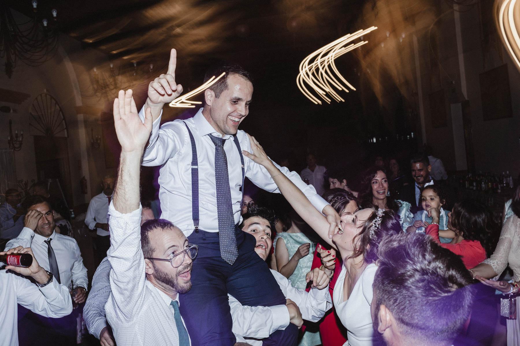 Fotografía de boda con Flash