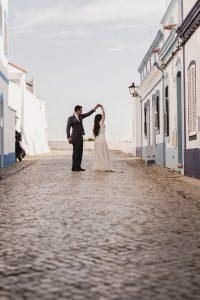 Postboda en El Algarve