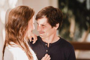 Reportaje de pareja en Costa Ballena